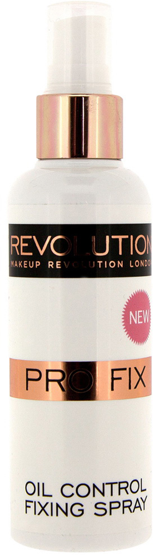 Makeup Revolution Спрей для фиксации макияжа Oil Control Fixing Spray, 100 мл