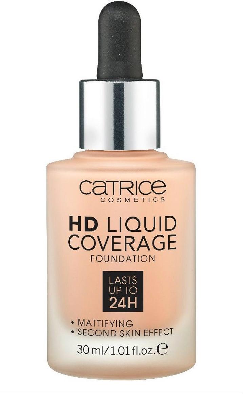Catrice Основа тональная HD Liquid Coverage Foundation 020 Rose Beige 30 мл цена