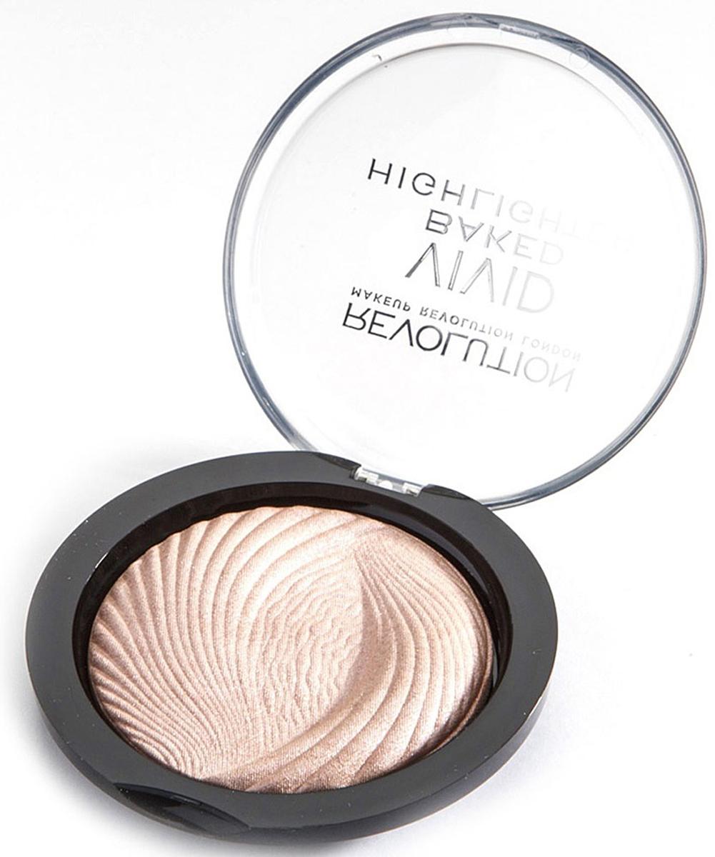 Makeup Revolution Хайлайтер Vivid Baked Highlighters, Peach Lights