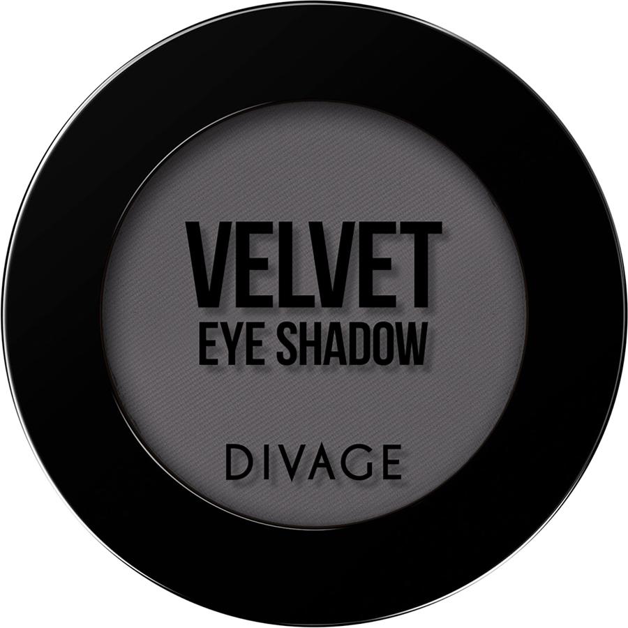 DIVAGE Матовые одноцветные тени для век VELVET , тон № 7301, 3 гр