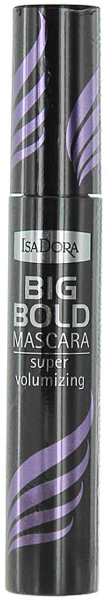 """Тушь для ресниц Isa Dora """"Big Bold Mascara"""", супер объем, тон №10, цвет: черный, 14 мл"""