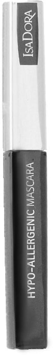 Тушь для ресниц Isa Dora Hypo-Allergenic Mascara, гипоаллергенная, тон №02, цвет: темно-коричневый, 7 мл тушь для ресниц isa dora build up mascara экстра объем водостойкая тон 20 цвет черный 12 мл