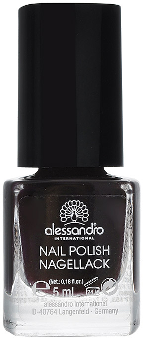 "Alessandro Лак для ногтей ""Nagellack. Кофейный глянец"", 5 мл"