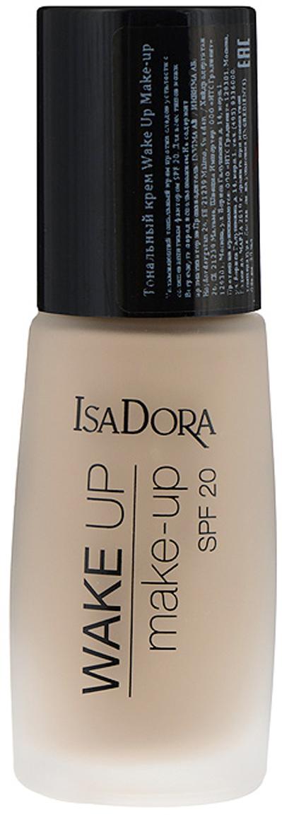 Isa Dora Тональный крем Wake Up Make-up, Spf 20, тон №04, 30 мл повязка на голову для младенца baby s joy цвет бежевый k 22