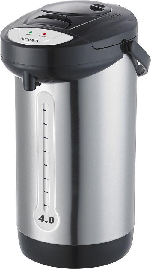 Термопот Supra TPS-3012, Silver термопот supra tps 3001 gerbera