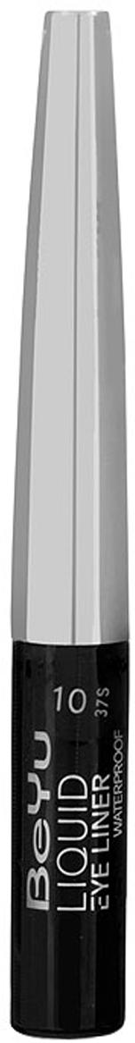 BeYu Жидкая подводка для глаз, водостойкая, оттенок №10 (черный), 3,5 мл
