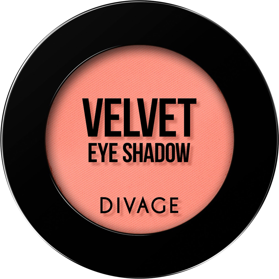 DIVAGE Матовые одноцветные тени для век VELVET , тон № 7321, 3 гр.
