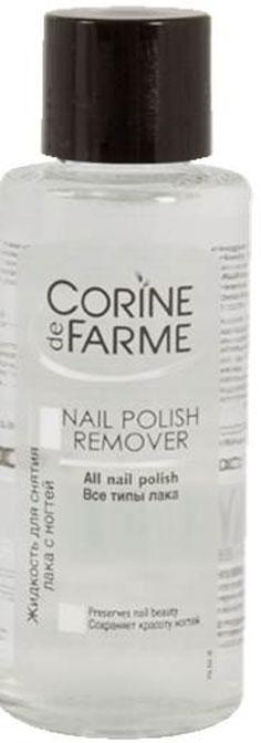 Corine De Farme Жидкость для снятия лака с ногтей, 100 мл corine de farme мой интимный уход крем гель для душа защищающий 250 мл