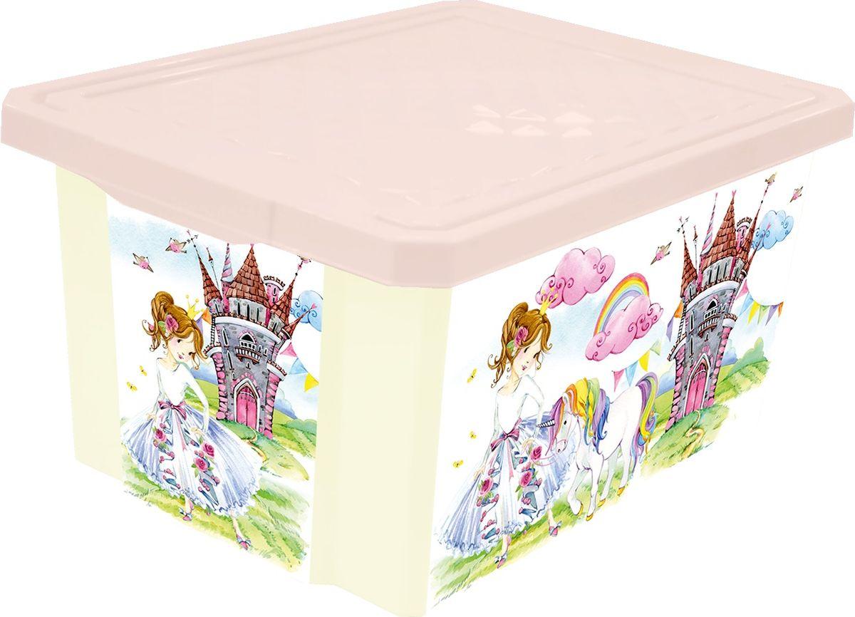 Little Angel Ящик для игрушек X-Box Сказочная Принцесса на колесах 57 л little angel ящик для игрушек x box сказочная принцесса 17 л