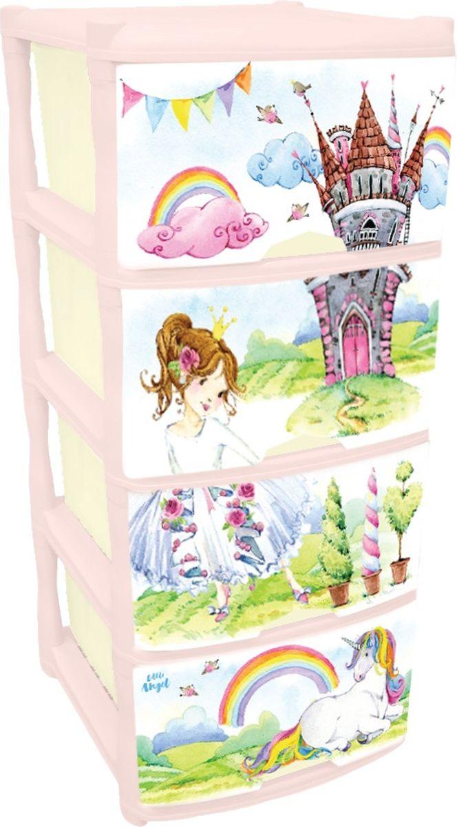 Little Angel Комод для детской комнаты Сказочная Принцесса