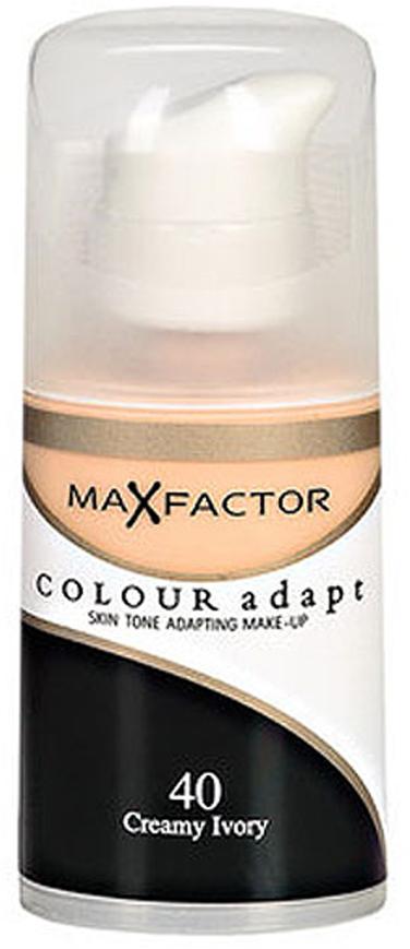 Max Factor Тональный крем Colour Adapt, тон 40 Creamy Ivory (Слоновая кость), 34 мл цена