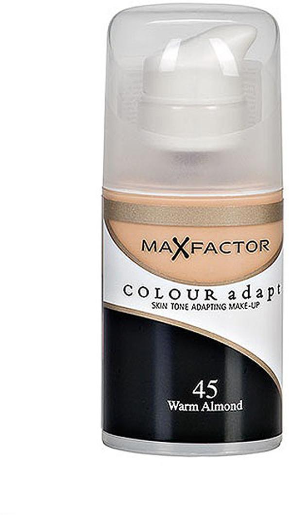 Max Factor Тональный крем Colour Adapt, тон 45 Warm Almond (Светло-розовый), 34 мл цена