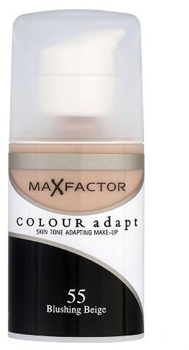 Max Factor Тональный крем Colour Adapt, тон 55 Blushing Beige (Бежевый), 34 мл max factor colour adapt blushing beige крем тональный 55 тон