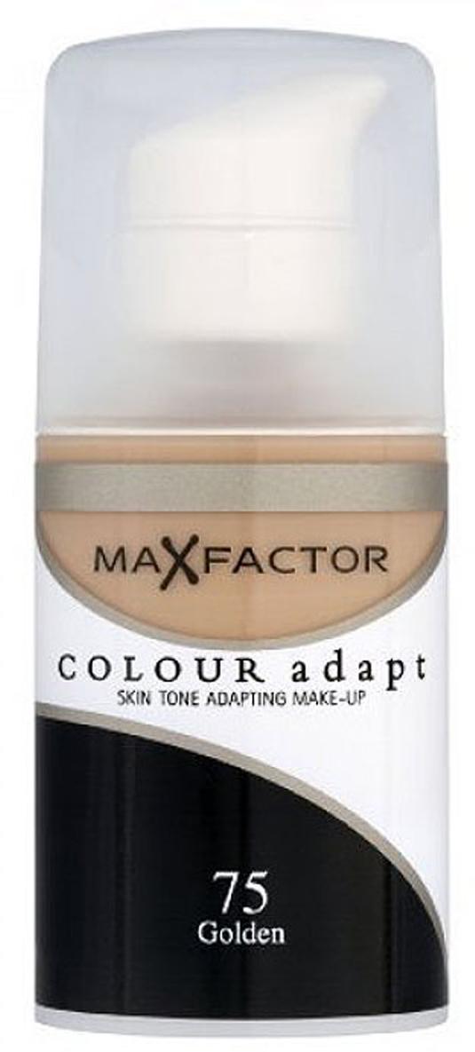 Max Factor Тональный крем Colour Adapt, тон 75 Golden (Золотой), 34 мл цена