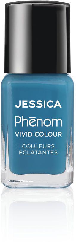 Jessica Phenom Лак для ногтей Vivid Colour Fountain Bleu № 08, 15 мл jessica phenom лак для ногтей vivid colour barbie pink 20 15 мл