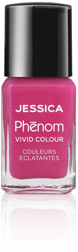 Jessica Phenom Лак для ногтей Vivid Colour Barbie Pink № 20, 15 мл jessica phenom лак для ногтей vivid colour barbie pink 20 15 мл