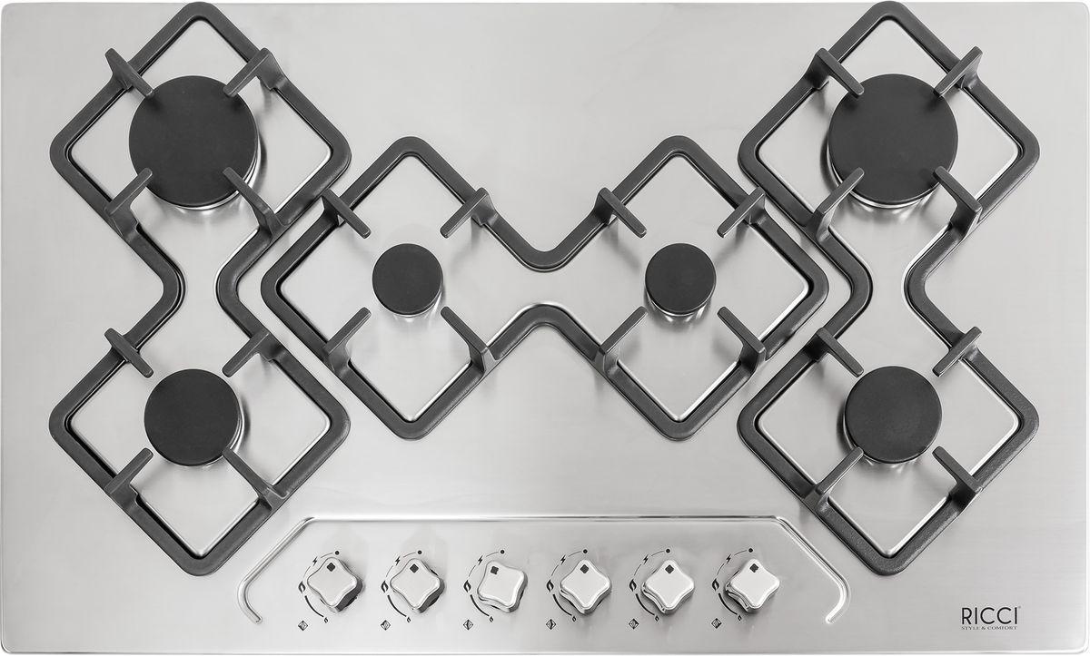 Ricci RGN-KA6018IX, Silver Grey варочная панель встраиваемая