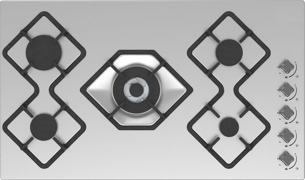 Ricci RGN-КА5041IX, Silver Grey варочная панель встраиваемая