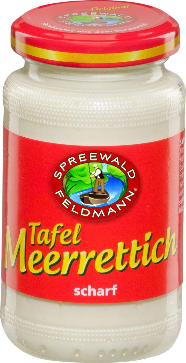 Spreewald Feldmann Хрен тертый консервированный, 160 мл der spreewald