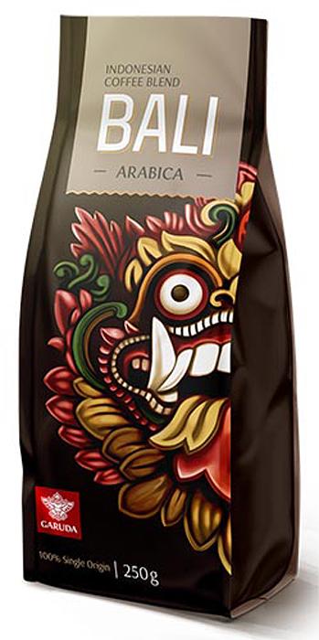garuda bali кофе молотый 250 г Garuda Bali кофе в зернах, 250 г