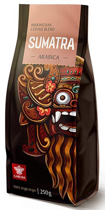 Garuda Sumatra кофе в зернах, 250 г недорго, оригинальная цена