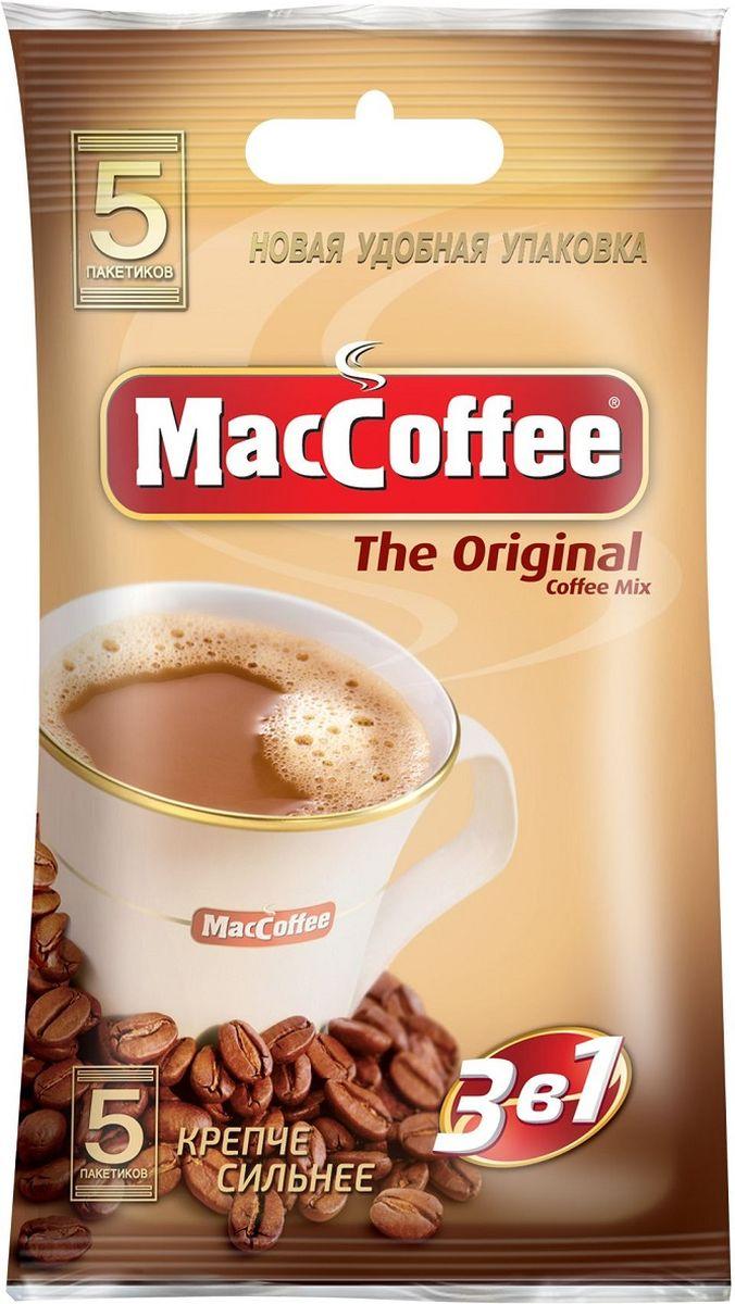 Фото - МасСoffee 3 в 1 Original кофейный напиток, 5 шт массoffee 3 в 1 original кофейный напиток 5 шт