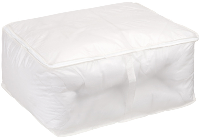 Кофр для хранения Handy Home, цвет: белый, 55 x 45 x 25 см кофр для хранения miolla 38 x 25 x 56 см