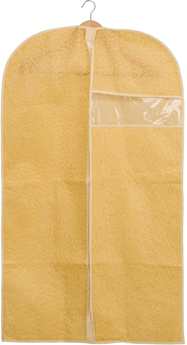 Чехол для одежды Handy Home Геометрия, цвет: бежевый, 60 х 100 см чехол для одежды handy home лен цвет бежевый 60 х 135 см