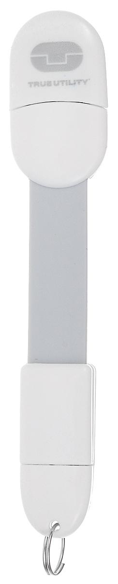 Брелок True Utility MobileCharger, цвет: белый