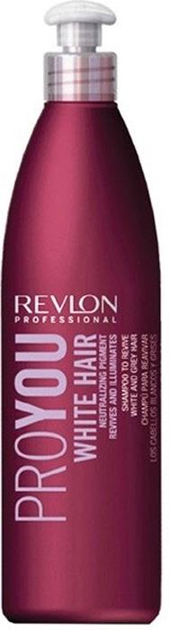 Revlon Professional Pro You Шампунь для блондированных волос White Hair Shampoo 350 мл revlon professional pro you texture liss hair средство для выпрямления волос 350 мл