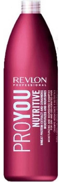 Revlon Professional Pro You Шампунь для волос увлажняющий и питательный Nutritive Shampoo 1000 мл шампунь для волос увлажняющий и питательный proyou nutritive shampoo 350мл revlon professional proyou