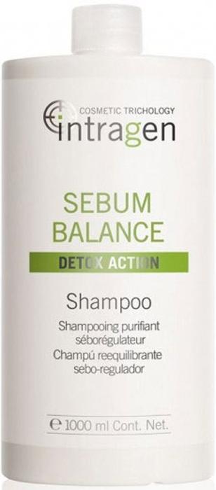 Revlon Professional Intragen INT Шампунь для жирной кожи головы Sebum Balance 1000 мл revlon шампунь detox intragen 1000 мл