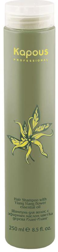 Kapous Professional Шампунь для волос с эфирным маслом Ilang Ilang 250 мл kapous маска для волос с эфирным маслом цветка дерева иланг иланг ylang ylang 100 мл
