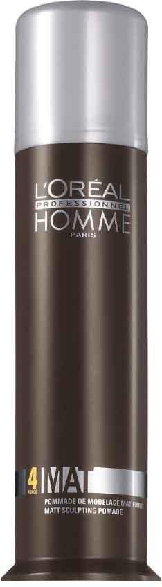 L'Oreal Professionnel Homme - Матирующая крем-паста для укладки волос 80 мл l oreal professionnel паста покер homme 75 мл