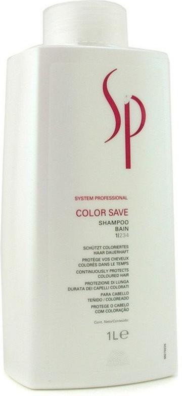 Wella SP Шампунь для окрашенных волос Color Save Shampoo, 1000 мл шампунь для окрашенных волос wella sp color save shampoo 1000 мл