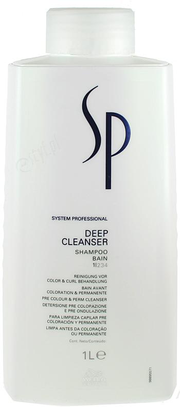 Wella SP Шампунь для глубокого очищения волос Expert Kit Deep Cleanser, 1000 мл wella sp шампунь для гладкости волос 1 л
