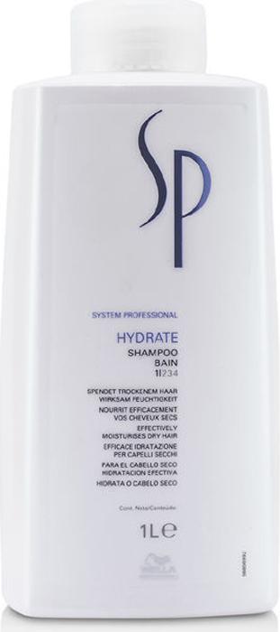Wella SP Увлажняющий шампунь Hydrate Shampoo, 1000 мл шампунь для окрашенных волос wella sp color save shampoo 1000 мл