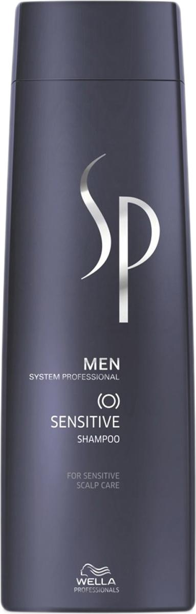 Wella SP Шампунь для чувствительной кожи головы Men Sensitive Shampoo, 250 мл