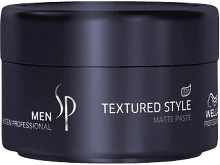 Wella SP Паста для укладки с матовым эффектом Men Textured Style, 75 мл цена