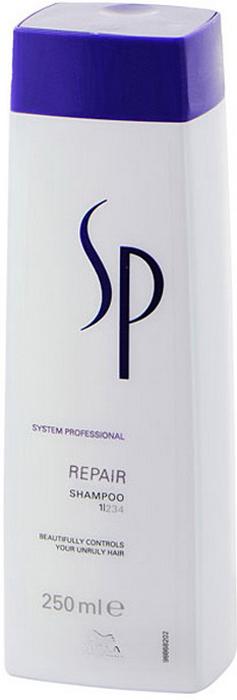 Wella SP Восстанавливающий шампунь Repair Shampoo, 250 мл шампунь для окрашенных волос wella sp color save shampoo 1000 мл