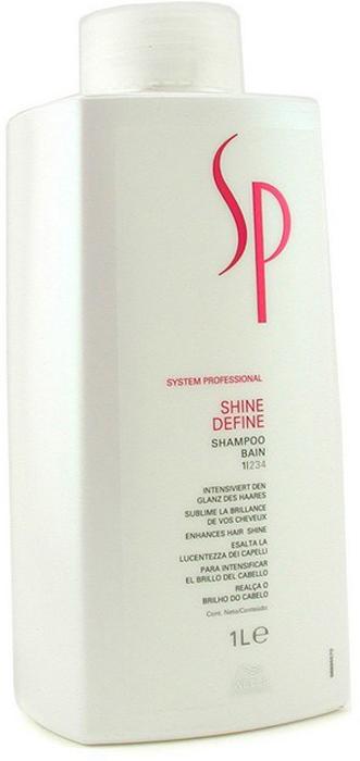 Wella SP Шампунь для блеска волос Shine Shampoo, 1000 мл шампунь для окрашенных волос wella sp color save shampoo 1000 мл