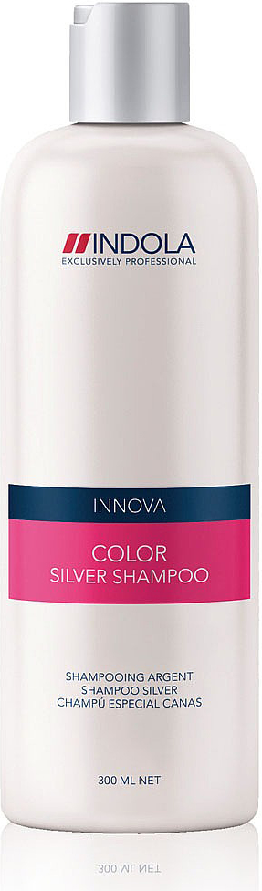 Indola Шампунь, придающий серебристый оттенок волосам Color Silver Shampoo 300 мл