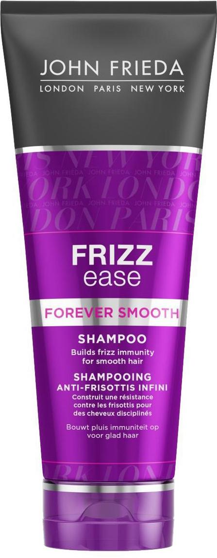 John Frieda Шампунь для гладкости волос длительного действия против влажности Frizz Ease FOREVER SMOOTH 250 мл frizz ease выпрямляющий моделирующий спрей для волос длительного действия 100 мл