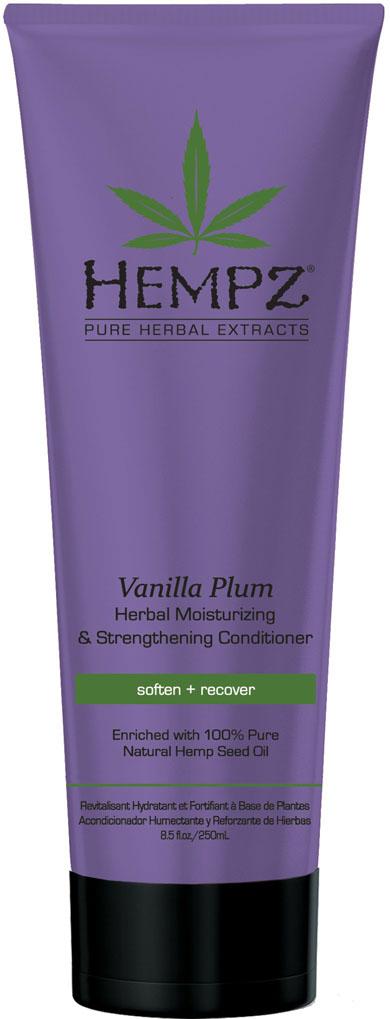 Hempz Кондиционер растительный увлажняющий и укрепляющий Ваниль и Слива Vanilla Plum Herbal Conditioner 265 мл