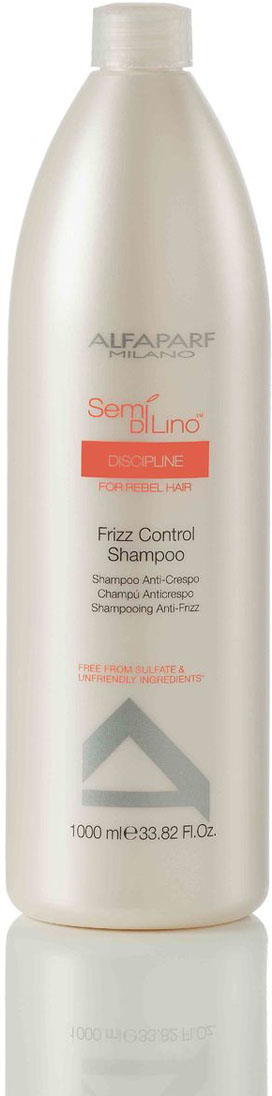 Alfaparf Разглаживающий шампунь для непослушных волос Semi Di Lino Discipline Frizz Control Shampoo 1000 мл недорого