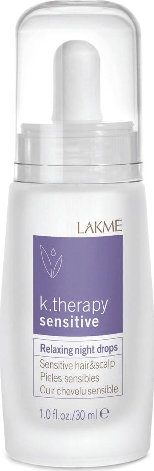 Lakme Ночное успокаивающее средство для чувствительной кожи головы и волос Relaxing Night Drops Hair and Scalp, 30 мл цена и фото