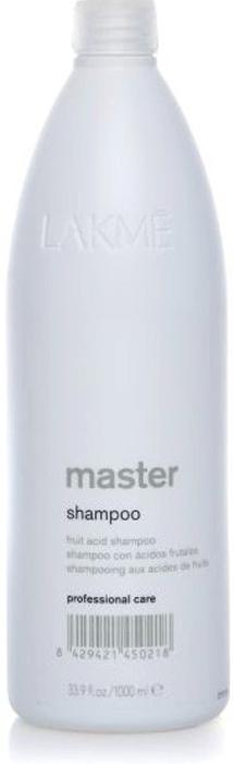 Lakme Шампунь для волос Shampoo, 1000 мл lakme стабилизированный крем окислитель 9% lakme collage hydrox 30v 42301 1000 мл