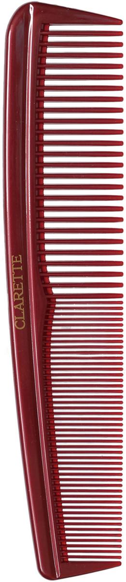 Clarette Расческа для волос универсальная, цвет: бордовый clarette расческа комбинированная clarette