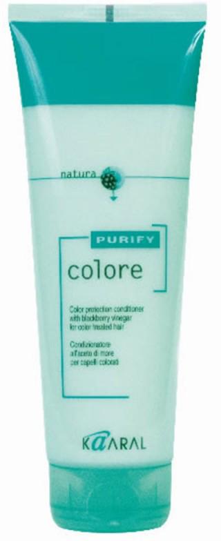 Kaaral Кондиционер для окрашенных волос Purify Colore Conditioner, 250 мл kaaral кондиционер для окрашенных волос purify colore conditioner 1000 мл