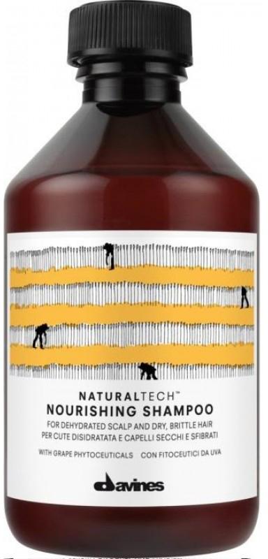 Davines Питательный шампунь Natural Tech Nourishing Shampoo, 250 мл густая себорея кожи